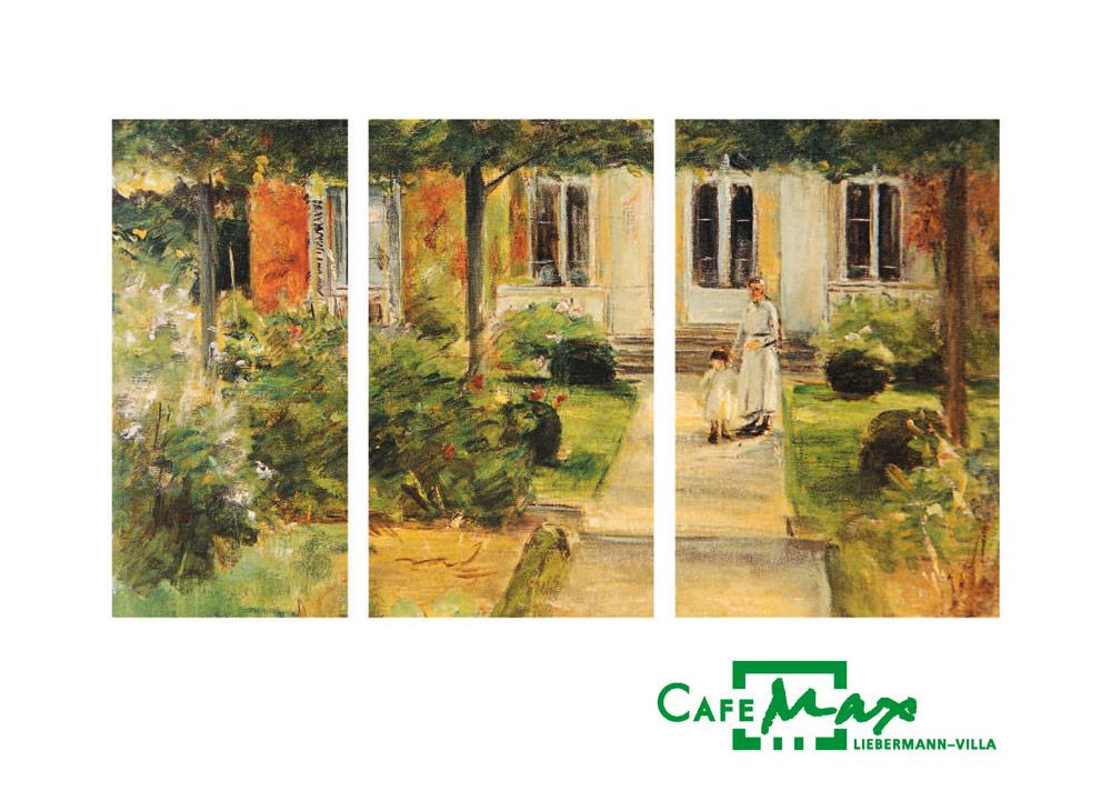 Garten-Gemälde von Max Liebermann
