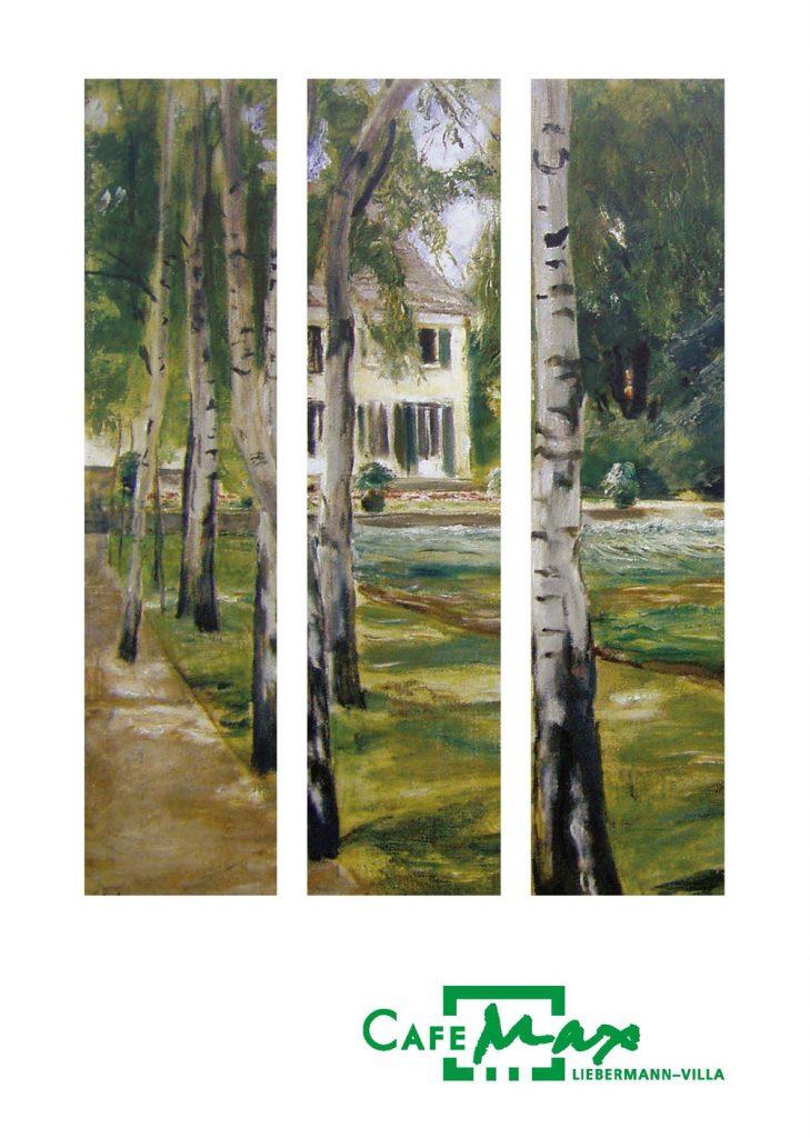 Birke-Gemälde von Max Liebermann